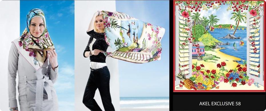 2010 2011 akel eşarp başörtüsü çeşitleri modelleri 2010 ilkbahar yaz tesettür modası ilkbahar yaz için eşarplar akel eşarp