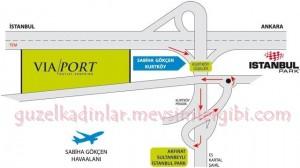 viaport avm via port alışveriş merkezi ulaşım iletişim