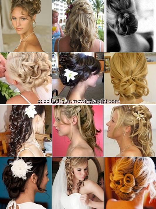 gelin saç modelleri 2011 gelin saçları