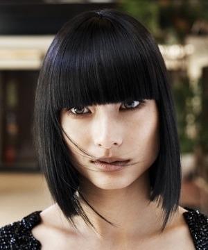 2011 saç rengi modası siyah saç