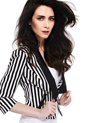 2013 trendleri retro siyah beyaz çizgili modası