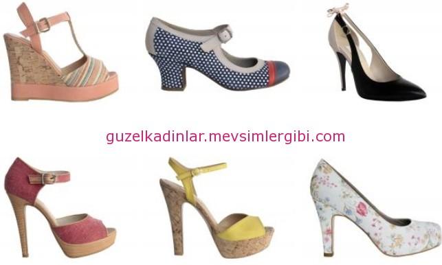ELLE'den annelere trendy ayakkabılar