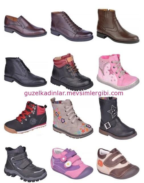 2014 kışlık kadın erkek çocuk ayakkabı bot modası polaris