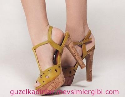 FLO lazer kesim ayakkabılar 2014 kadın ayakkabı modası
