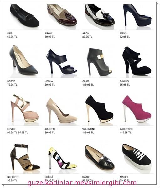 bu yılın modası ayakkabılar ve fiyatları 008