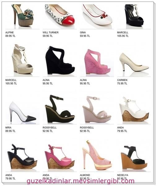 bu yılın modası ayakkabılar ve fiyatları 015