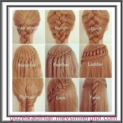güzel ve farklı saç örgüleri hair braid002 2014 kadın kız çocuk saç modası