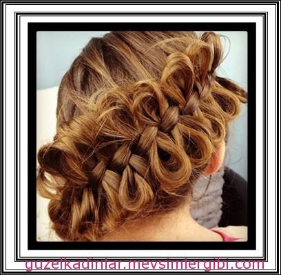 güzel ve farklı saç örgüleri hair braid 2014 kadın kız çocuk saç modası