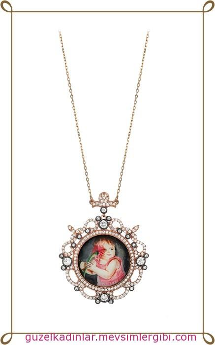 jival anneler günü altın takı kolye modelleri koleksiyonu 004 anneme ne alsam