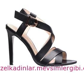 yazlık siyah stiletto ayakkabı fiyatları 192 lira