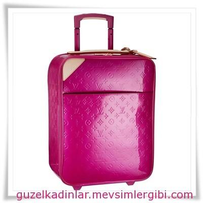 pembe bayan valizleri 2014