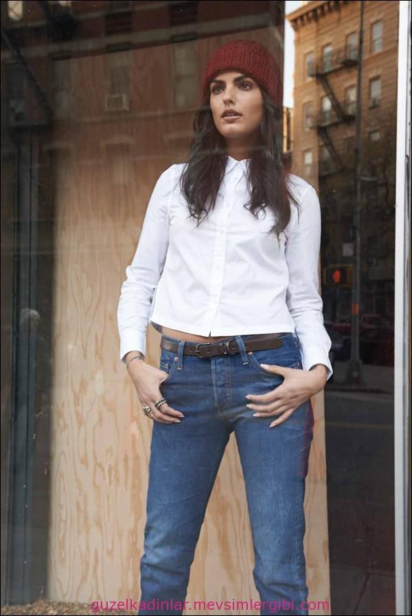 levi's 2015 501 jean pantolon etek gömlek ceket mont modelleri LEVIS WOMEN FW14
