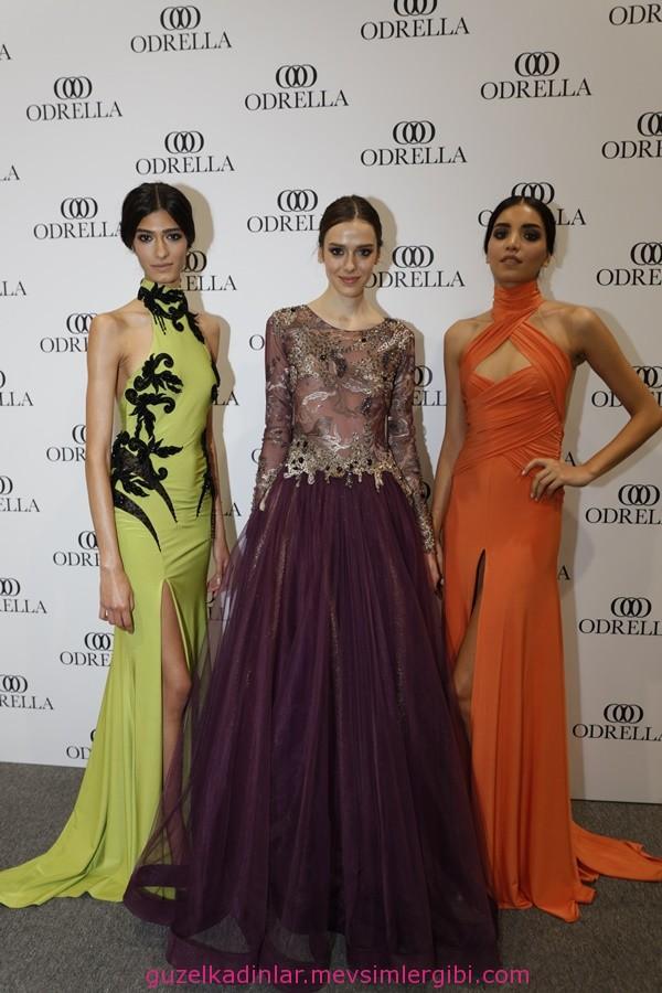 Odrella Abiye Elbise Modelleri