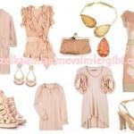 en son moda en yeni trendler pudra rengi elbiseler