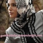 armine 2010 2011 eşarp başörtüsü türban modelleri 006 güzel kadınlar tesettür modası kıyafetleri giyimi