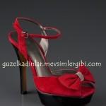 J.Lo Kırmızı yüksek topuklu Ayakkabı