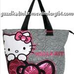 hello kitty tüvit kumaş çanta