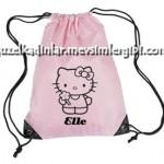 hello kitty elle bağcıklı pembe kese çanta