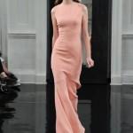 Victoria Beckham 2011 somon rengi elbiseler