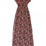 koton çiçekli yeni moda elbiseler