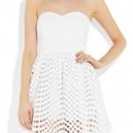 mini beyaz elbiseler