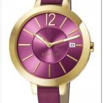 yeni sezon altın rengi tonlarında kadın saat modelleri