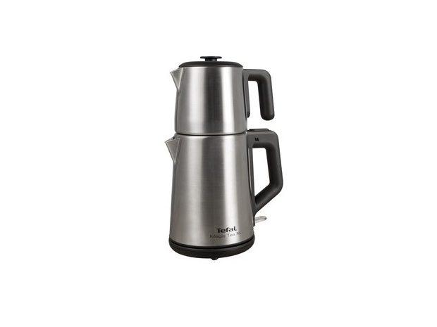 ikinci el tefal çaydanlık magic tea Xl paslanmaz çelik